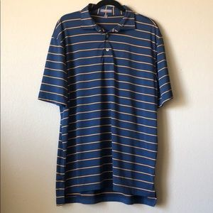 Peter Millar Summer Comfort golf polo sz L